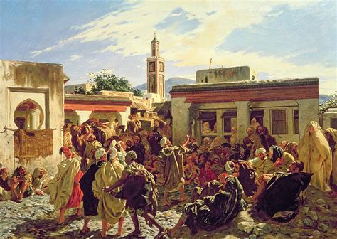 moroccan art history the moroccan storyteller painting by alfred dehodencq