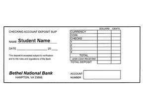 withdrawal slip template deposit slip step 1