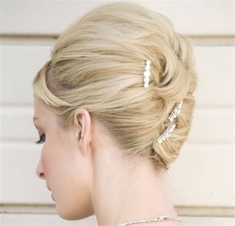 blonde wedding updos short blonde hair for wedding short hairstyles 2017