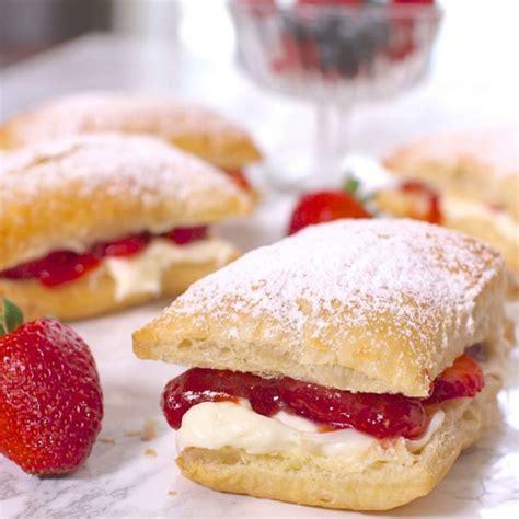 strawberry cheesecake puffs today com