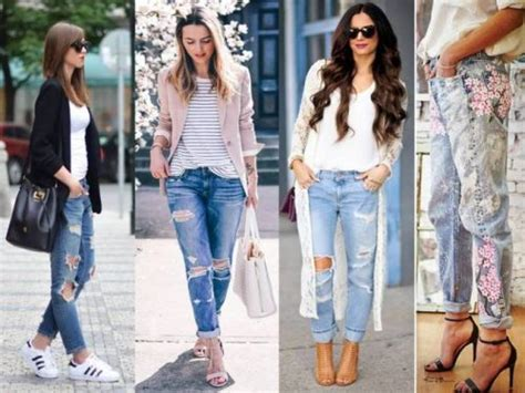 casual hairstyles with jeans how to rock the boyfriend jeans just trendy girls