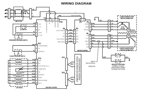 wiring diagram whirlpool washing machine wiring diagram of