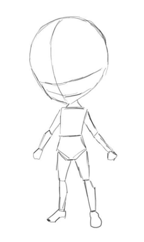 template anime chibi template by mackdoodle99 on deviantart