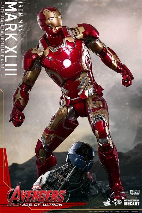 hot toys avengers age ultron iron man suit revealed