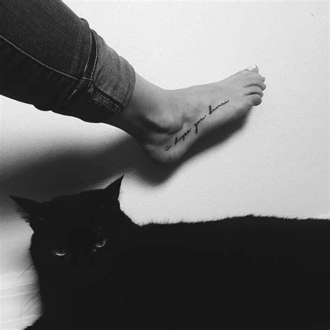 i hope you dance tattoo i you foot tattoos