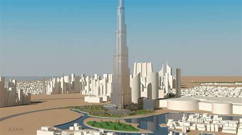 burj kalifa dubai  model max obj cgtradercom