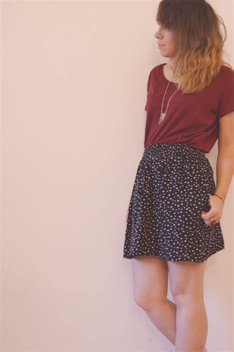 Girly Casual Maroon Sf casual girly et burgundy le so girly
