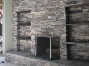 Facade Brick Fireplace by Refacing Fireplace With Veneer