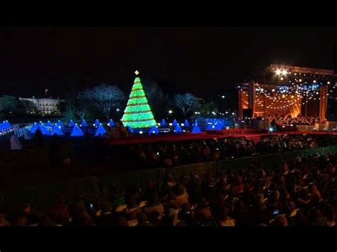 national tree lighting ceremony president obama delivers remarks at the national christmas