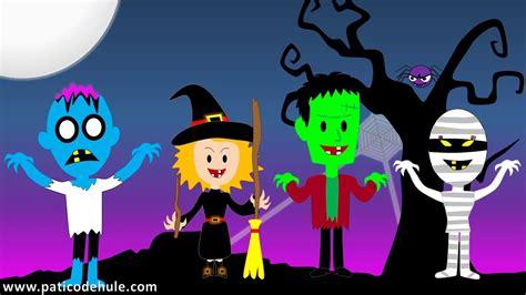 imagenes de halloween canci 243 n de halloween para ni 241 os un monstruo en la