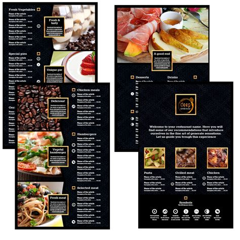 menu design project modern professional menu design for leonice marcelino by