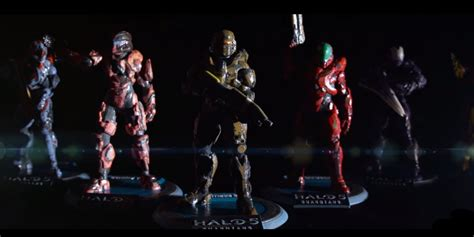 Custom 3d Print 4 you can order a 3d printed figure of your own halo 5 spartan