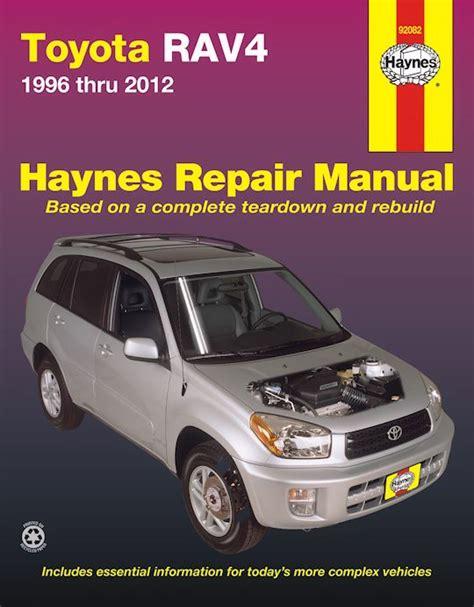 best car repair manuals 2012 toyota sequoia spare parts catalogs toyota rav4 haynes repair manual 1996 2012 free shipping