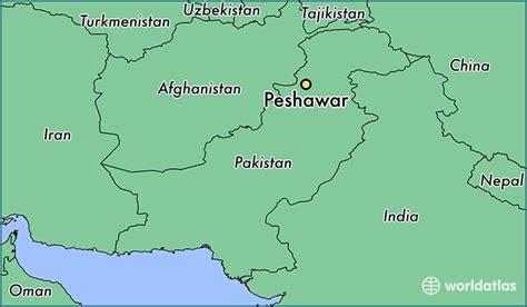 Peshawar On World Map   where is peshawar pakistan peshawar khyber