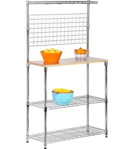 Modern Kitchen Bakers Rack by Kitchen Bakers Rack In Cookware Stands