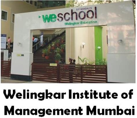 Mba In Welingkar Institute Of Management by Welingkar Institute Of Management Mumbai Admission 2015