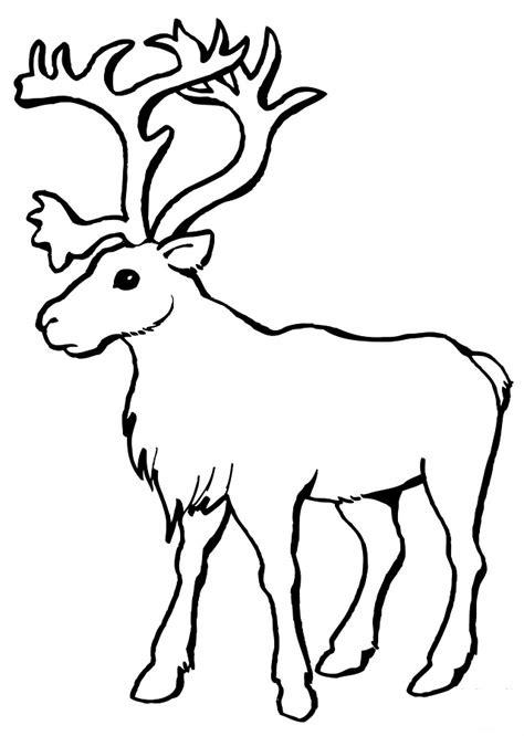 imagenes de navidad para colorear renos renos para colorear dibujos para colorear