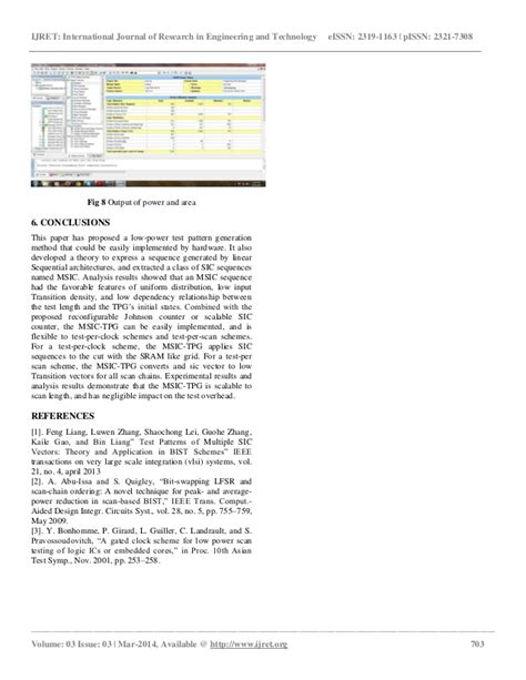 test pattern generation for bist ppt low power test pattern generation for bist applications