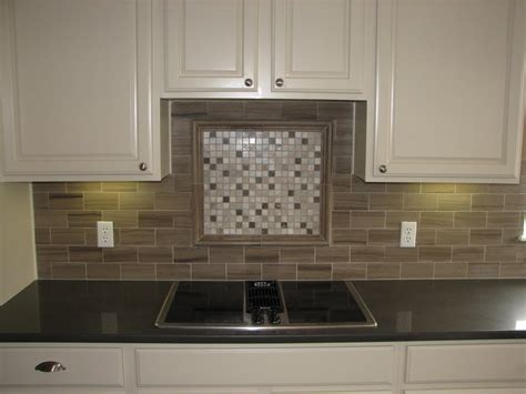 Kitchen Backsplash Mosaic Tile Designs Tile Backsplash With Black Cuntertop Ideas Tile Design Backsplash Photos Backsplash Design