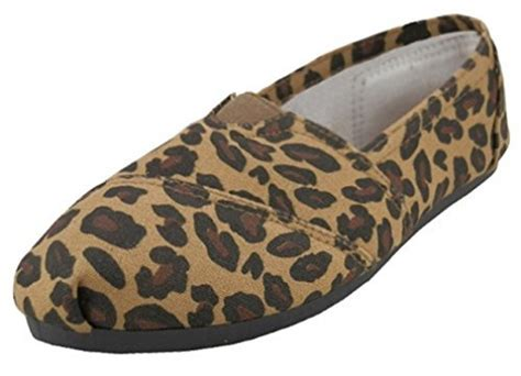 leopard print canvas sneakers s leopard print canvas flat shoes slip on sneakers