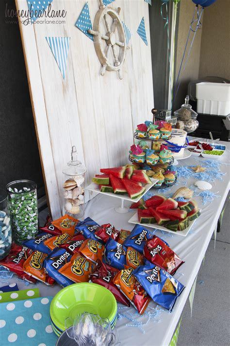 Water Themed Birthday Party Honeybear | water themed birthday party honeybear lane