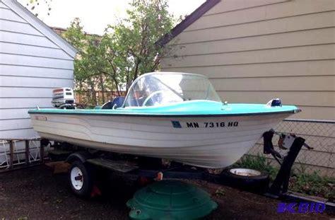 king boat 14 foot sea king fiberglass boat wi whiteford high