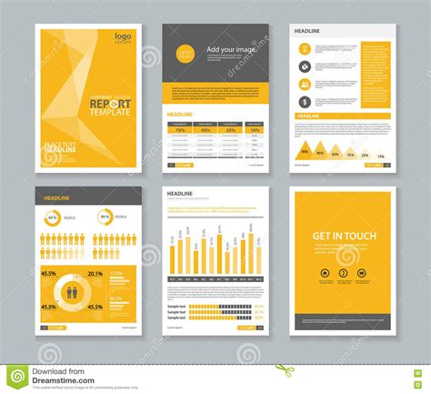 layout of a company profile free brochure templates brickhost page 100
