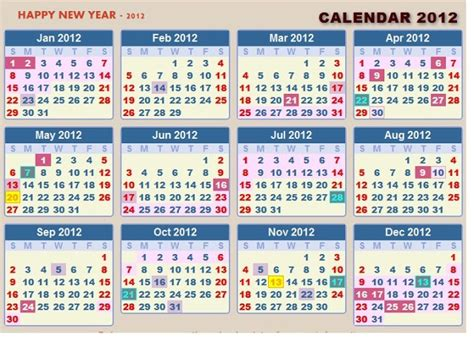 new year 2015 government schedule mdmindia new year calendar 2012 with government lists