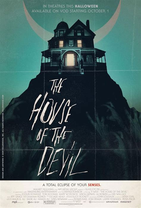 the house of the devil movie poster of the week quot the house of the devil quot on notebook mubi