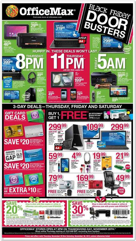 Office Max Sale Ad by Officemax Black Friday 2013 Ad Find The Best Officemax