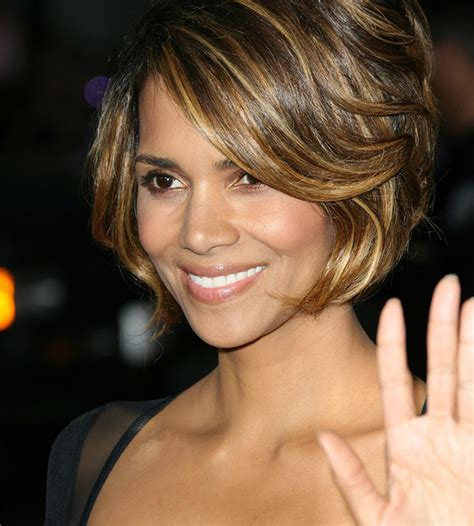 what face shapes do halle berry has a style of bangs for every face shape