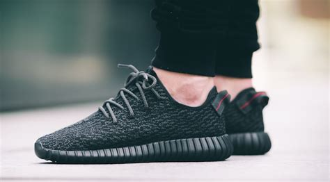 Adidas Yeezy 350 Boost Black Pirate adidas yeezy 350 boost pirate black sneaker bar detroit