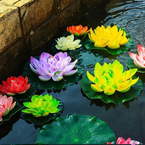 lotus flower number of petals petals lotus flower pond decoration water