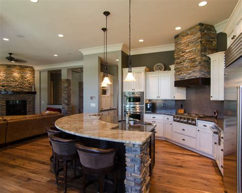 open kitchen island designs open concept kitchen knoxville plumbers home