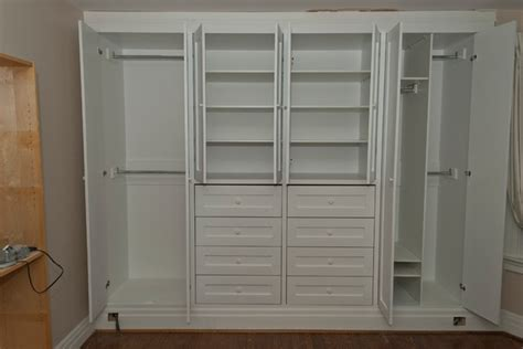 Home Depot Kitchen Cabinet Sale by High Park Two Built In Closets Contemporary Bedroom