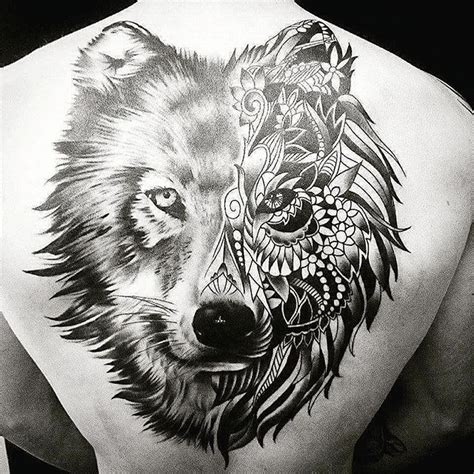 mandala wolf tattoo on instagram