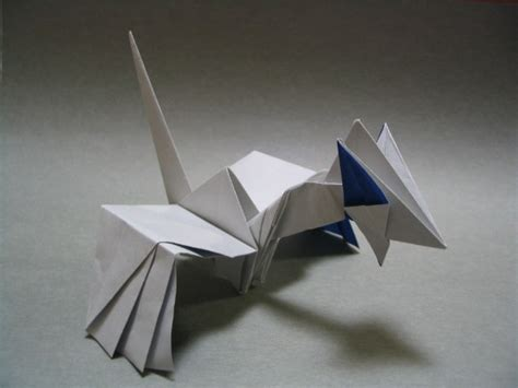 Origami Arceus - origami from gold silver ruby sapphire