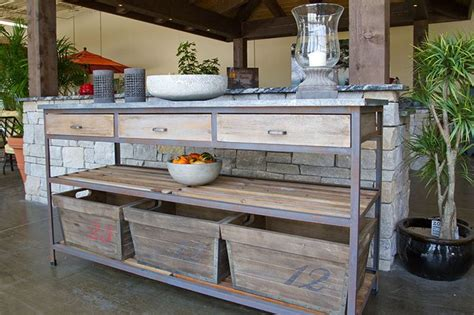 Patio Buffet Table Outdoor Buffet Table Outdoor Buffet Table And Accessories For The Home The O