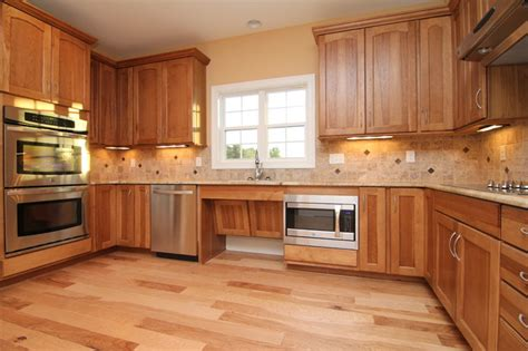 Handicap Kitchen Cabinets Accessible Kitchen Cabinets Traditional Kitchen Raleigh By Stanton Homes