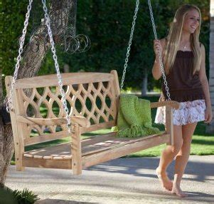 used porch swing wood joinery techniques freestanding porch swing kit