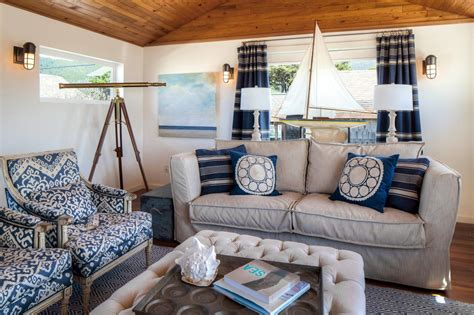 nautical living room coastal living rooms that will make you yearn for the beach