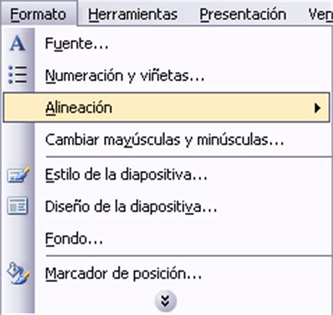 alineacion html imagenes y texto curso de microsoft powerpoint 2003 gratis tema 09