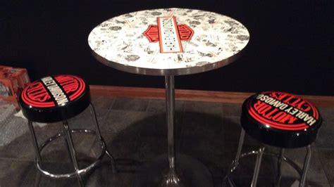 Harley Table And Stools by Harley Davidson Hi Top Table W 2 Bar Stools K84 Las