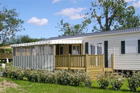 terrasse semi couverte pour mobil home