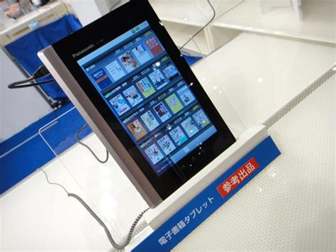 free ebooks for android tablets panasonic demos android based ebook tablet in japan