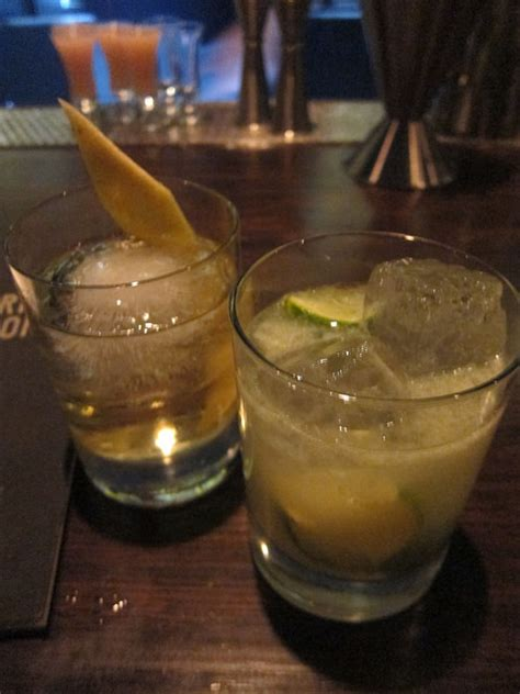 Mendes Drank Vodka Before With Joaquin 4 by Nyc Getting Drinks At Pouring Ribbons New York Drinkwire