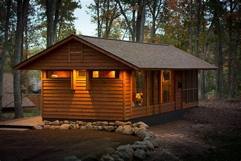 Portable Log Cabin Homes by Cottage Kits Bytown Lumber Log Cabin Kits