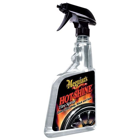 meguiars  oz automotive tire hot shine tire dressing   home depot