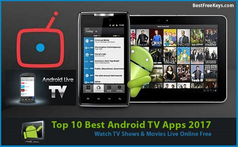 10 best android tv apps 2017 to live tv shows free - Free Tv Apps For Android Mobile