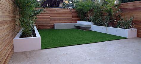 Limestone Benches Trellis London Garden Design Part 4